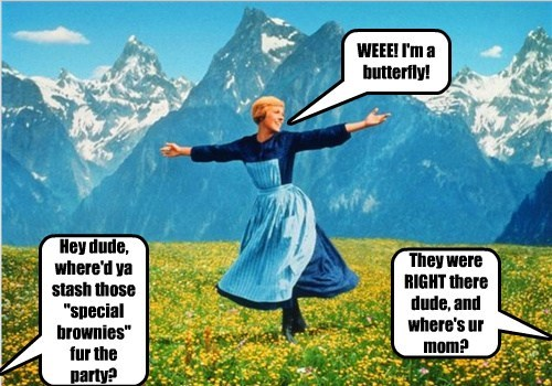 WEEE! I'm a butterfly!