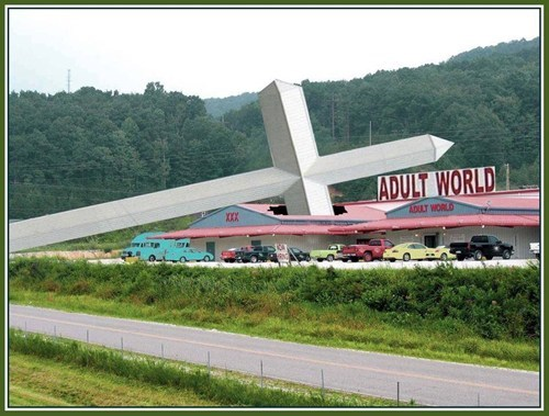 Adult World gets a message from God