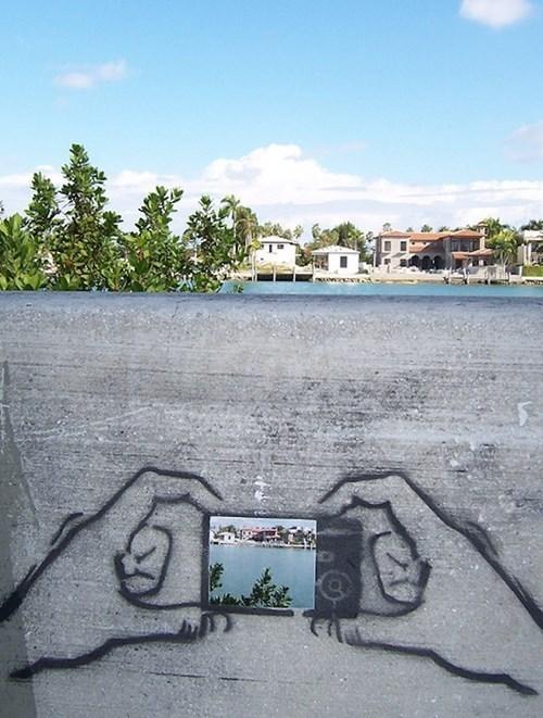 Street Art,camera,hacked irl