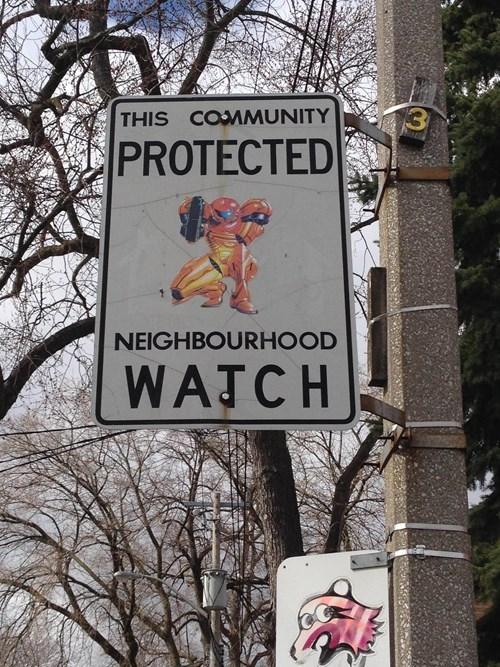 IRL,Metroid,street signs