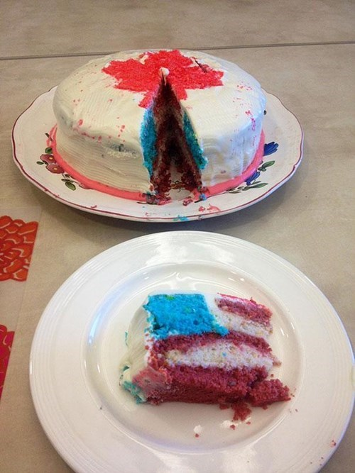 Canada Cake? NOPE!