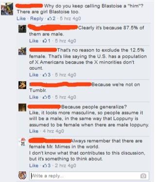 Pokémon Gender Logic