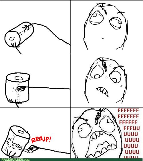 New Toilet Paper Rage