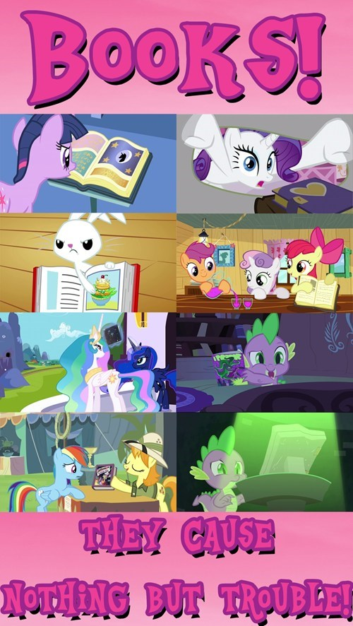 books,MLP,knowledge is power