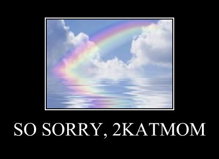 SO SORRY, 2KATMOM