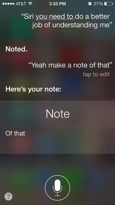 The Cycle of Siri Misfortune Continues