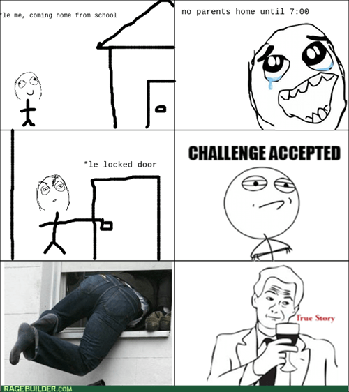 Challenge Accepted,Home Alone,window