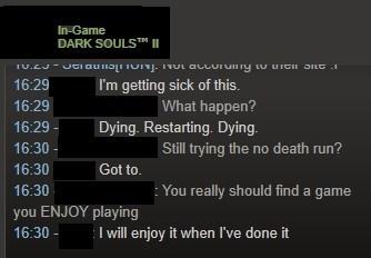 Dark Souls is srs bsns