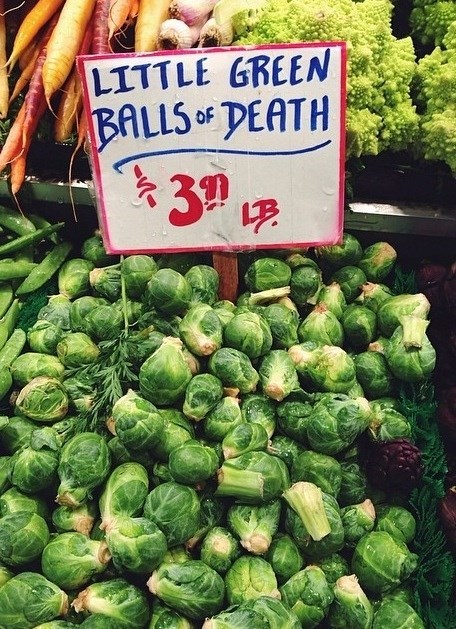 monday thru friday,work,brussels sprouts,grocery shopping,g rated
