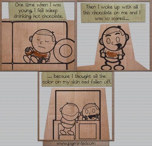 kids,hot chocolate,web comics