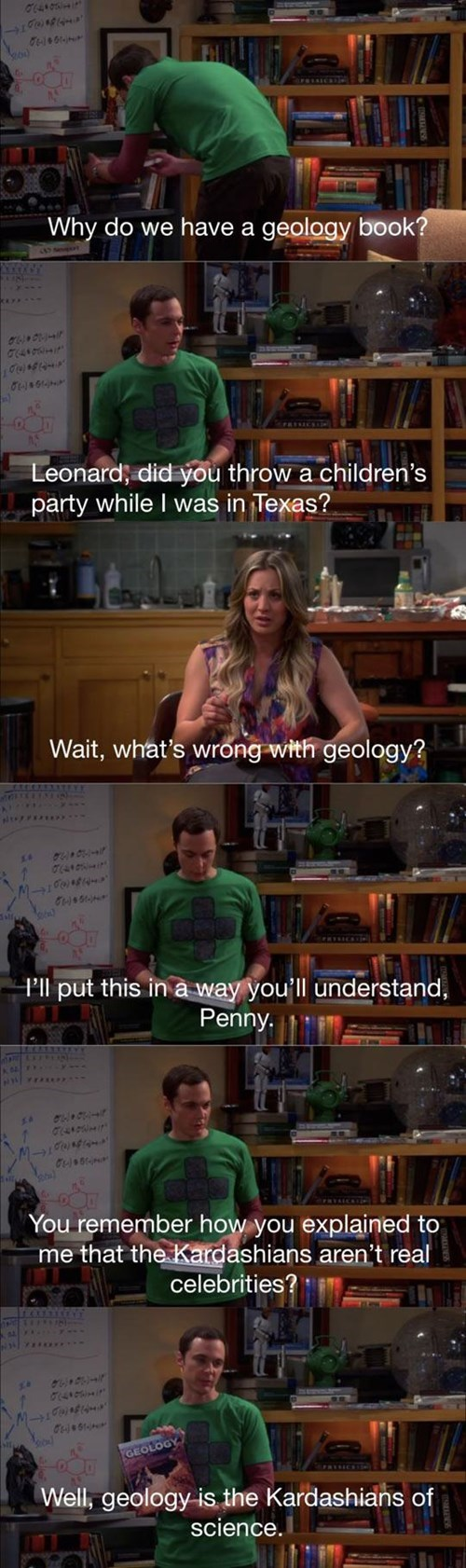 the kardashians,science,geology,doctors,funny