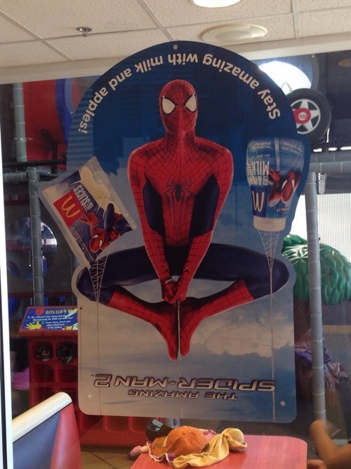 Spider-Man Doesn't Know Which Way Is Up!