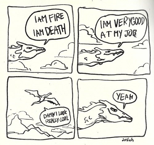 Smaug's Interior Monologue