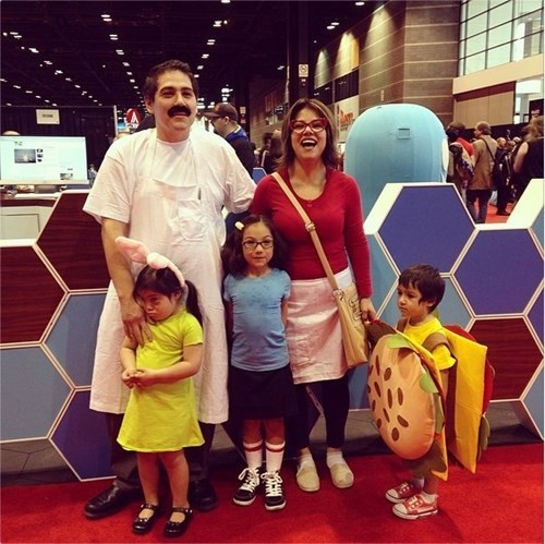 The Family Who Cosplays Together, Makes Burgers Together