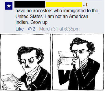 Ah, The Native Native Pre-Americans