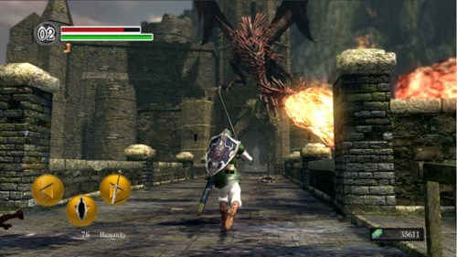 What if Zelda Was Made Like a Dark Souls Game?