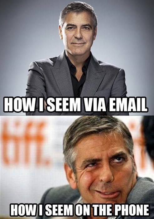 "Email: ""Hello, Good Sir!"""