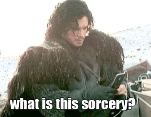 Jon Snow,behind the scenes,Game of Thrones,iphone