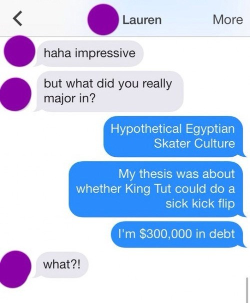 college,egyptian,funny,major,text