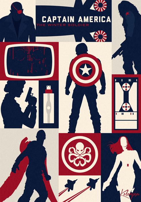 The Winter Soldier Gets a Little Art Deco