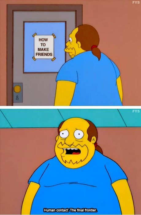 To Boldly Go Where Comic Book Guy has Never Gone Before