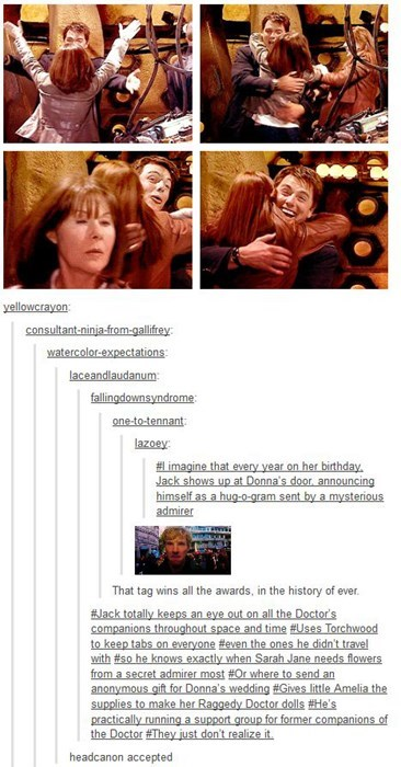 A Whovian Canon That Makes The Worst Day Better