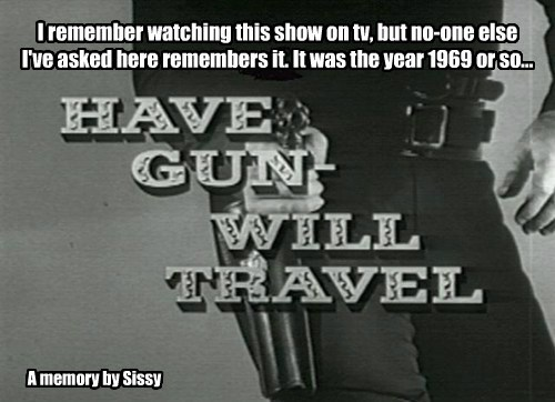I remember watching this show on tv, but no-one else I've asked here remembers it. It was the year 1969 or so...