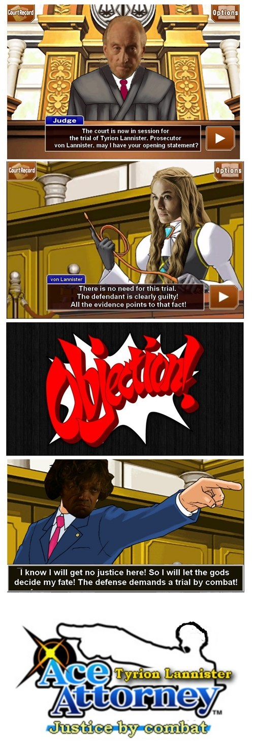 Tyrion Lannister: Ace Attorney