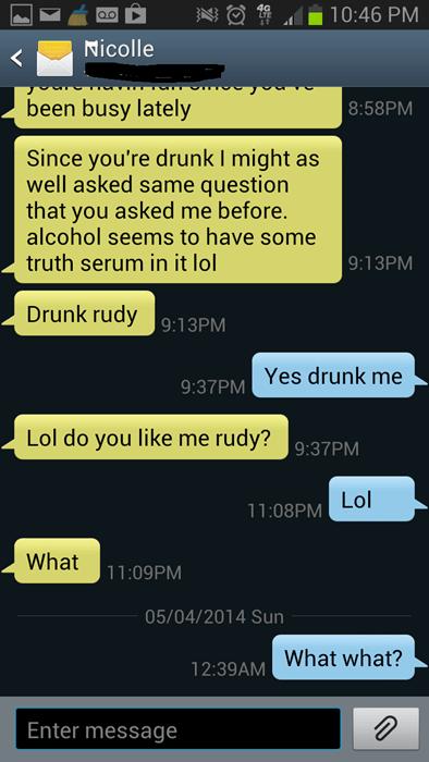 ex girlfriend,drunk,funny,text