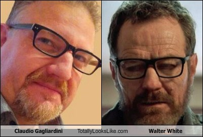 Claudio Gagliardini Totally Looks Like Walter White