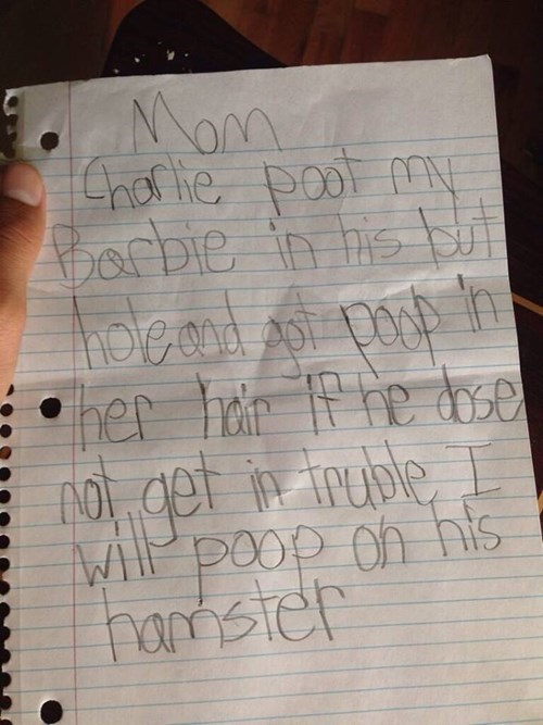 kids,parenting,note,g rated
