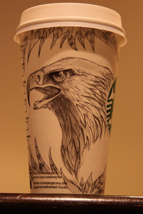 The Starbucks White Cup Contest? That Was For Amateurs!
