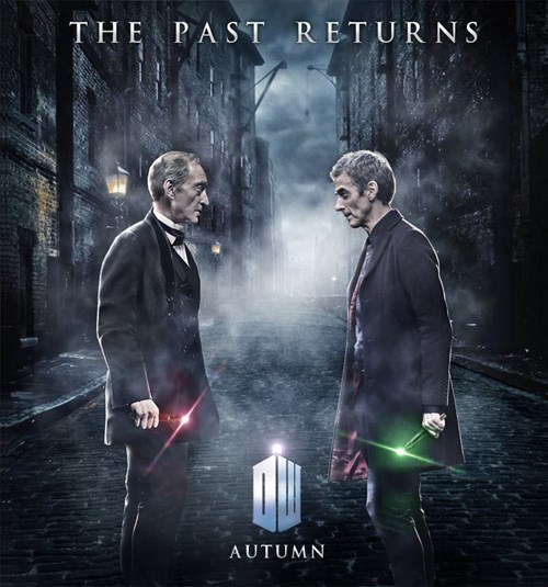 Series 8 Fan Poster Pits The Master Against The Doctor
