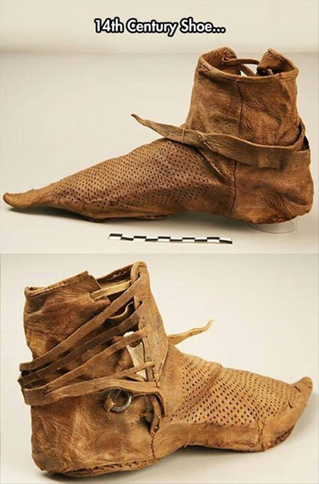 shoes,history,poorly dressed