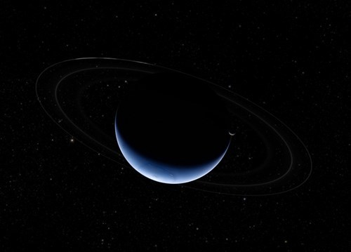 Neptune As Seen By Voyager