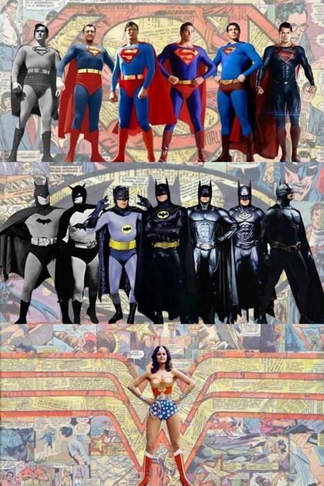 The History of Wonder Woman Compared To Batman and Superman