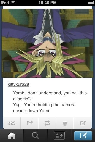 The King of Games Sucks at Selfies