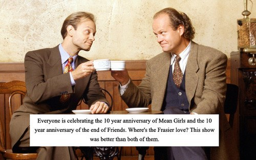 We'll Celebrate With Tossed Salad and Scrambled Eggs