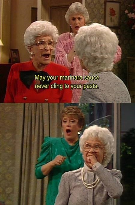 golden girls,sick burn