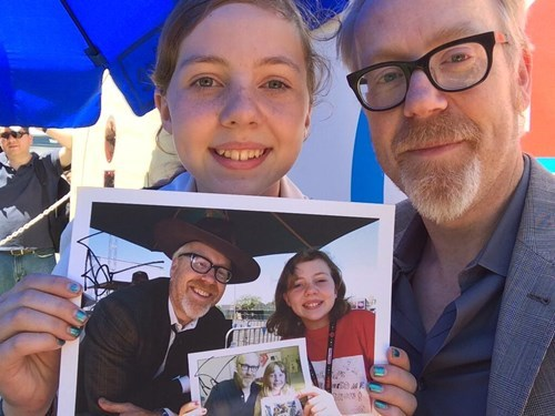 Photo of the Day: Adam Savage's Recursive Photos With a Young Fan