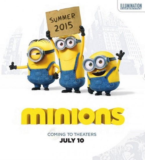Are You Ready for More Minions?  Here's the First Poster for Their Spinoff Film