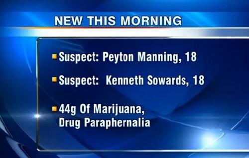 news,peyton manning,names,coincidence