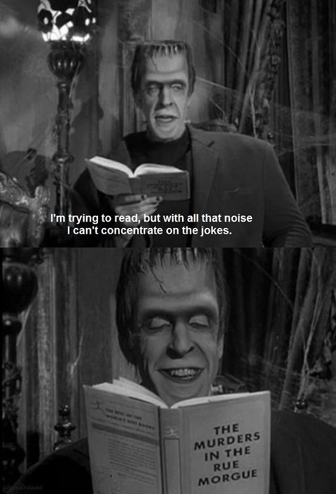 Herman Munster Has The Best Sense of Humor