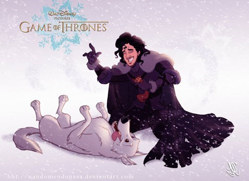 Pretend for a Second Disney Made Game of Thrones