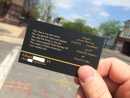 Business Cards Are Always Useful