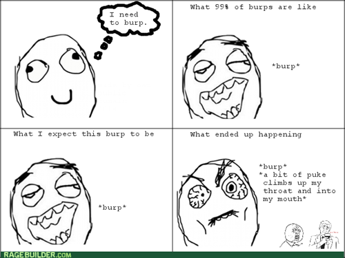 rage,burp,expectation vs reality