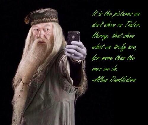 misquotes,Harry Potter,tinder,dumbledore