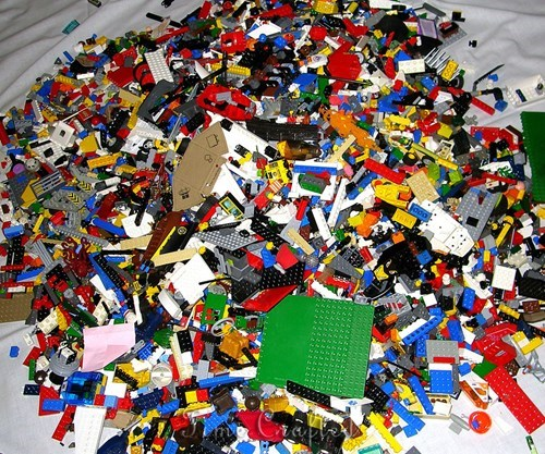 Cruelest Wife Ever Makes Man Get Rid of His Lego Collection