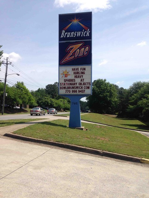 bowling alleys,bowling,business signs