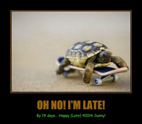 OH NO! I'M LATE!